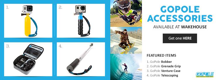 GoPole GoPro Poles & Accessories